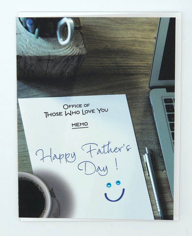 Happy Father's Day Memo Greeting Card