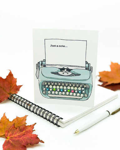 Thanksgiving Greeting Cards - Just A Note