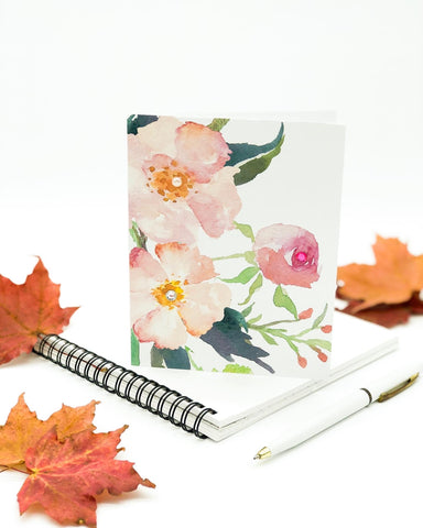 Thanksgiving Greeting Cards - Floral