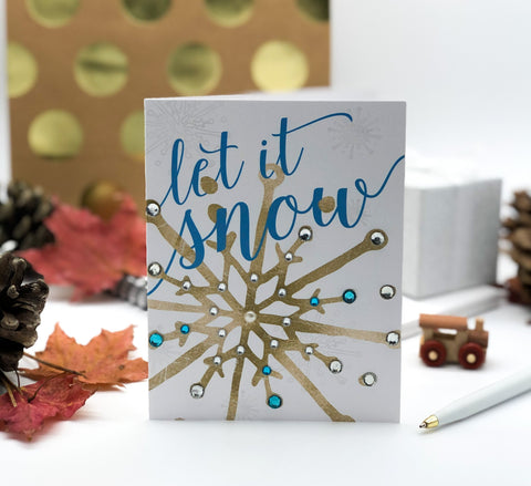 Let It Snow! Holiday Greeting Card