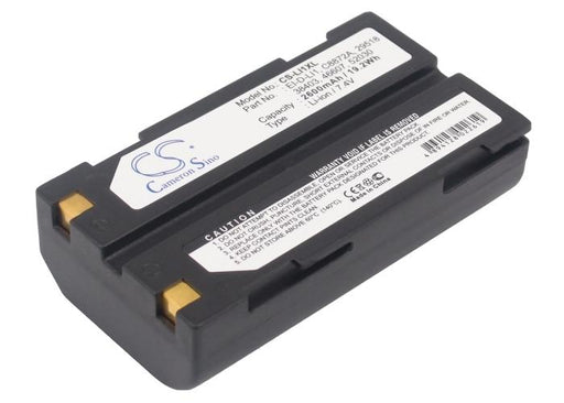 Spectra Precision SP60 GNSS SP80 GNSS 2600mAh Replacement Battery