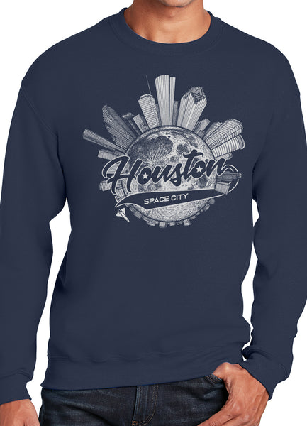 Space City Houston Sweatshirt - Point 506
