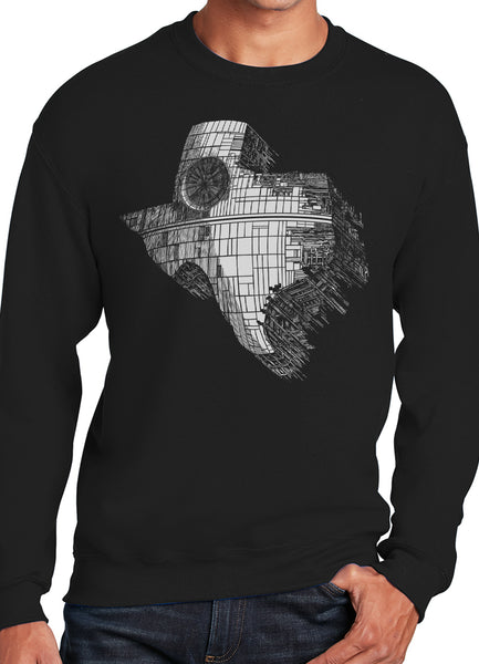 Texas Death Star State Sweatshirt - Point 506