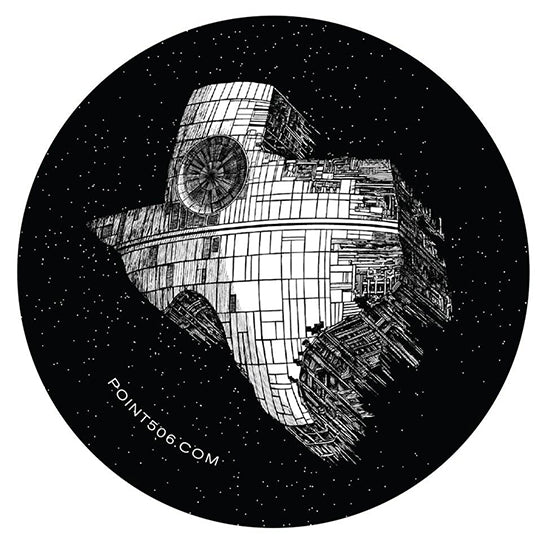 Texas Death Star Sticker - Point 506