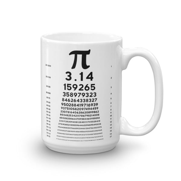 Pi Chart Coffee Mug - Point 506
