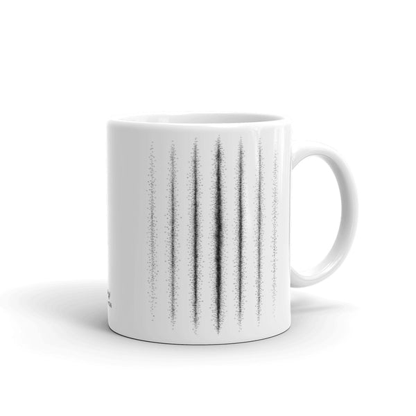 Double Slit Experiment Coffee Mug - Point 506