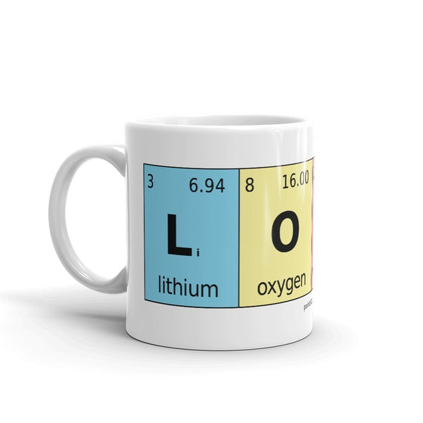 Periodic Table of Love Elements Mug - Point 506