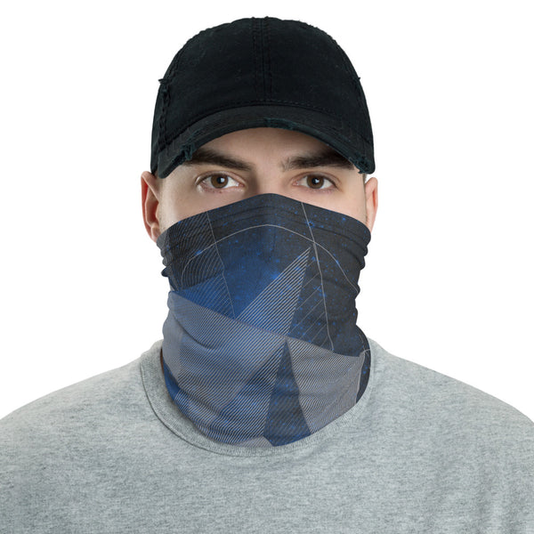 Face Mask/Bandana with Stellated Octahedron - Point 506