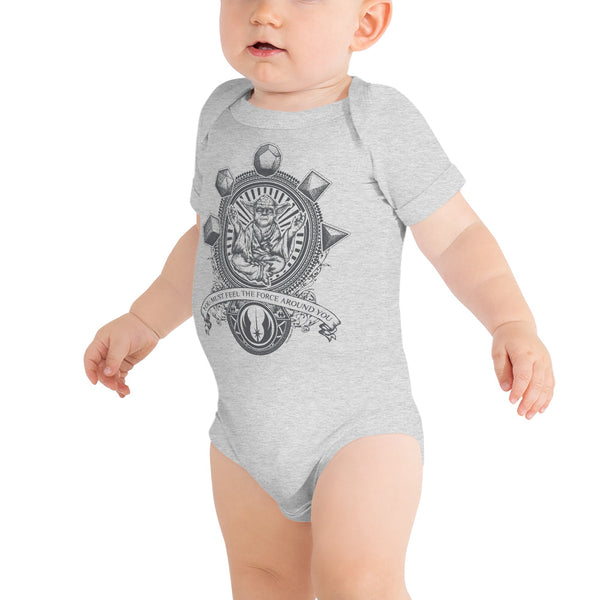 YODA Quote with Sacred Geometry Onesie - Point 506
