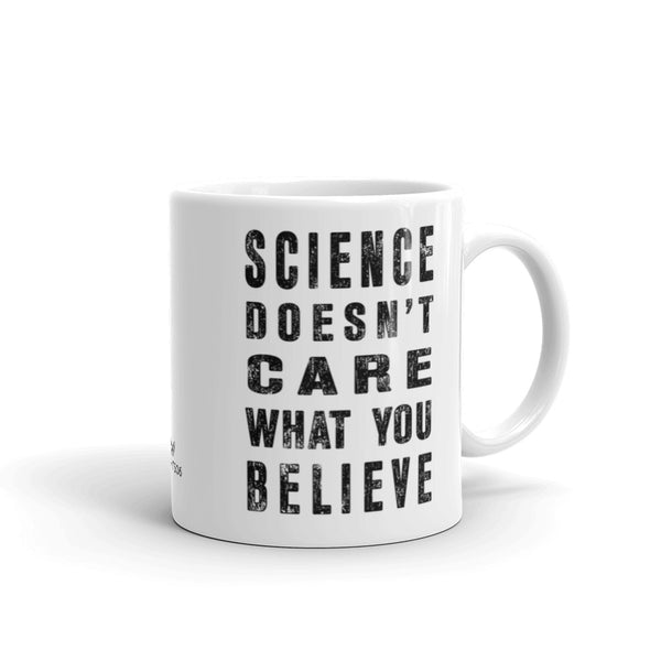 Science Doesn't Care Coffee Mug - Point 506