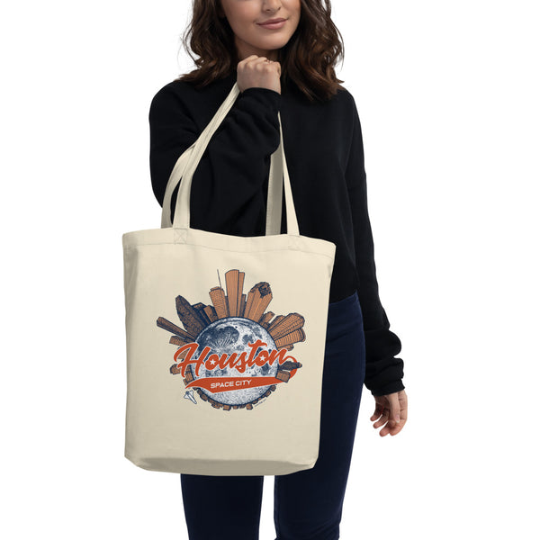 Space City Houston Eco Tote Bag - Point 506