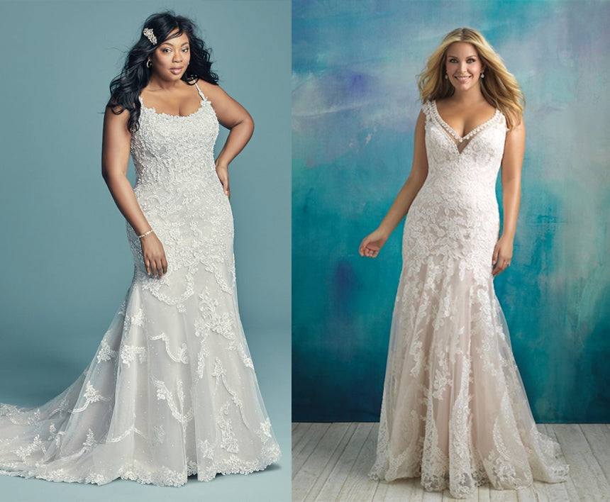 Sexy Wedding Gowns for Curvy Brides