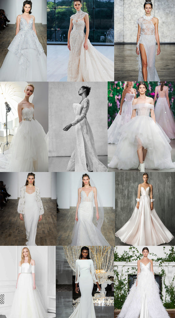 Wedding Dress Trends from Fall 2018 Bridal Fashion Week