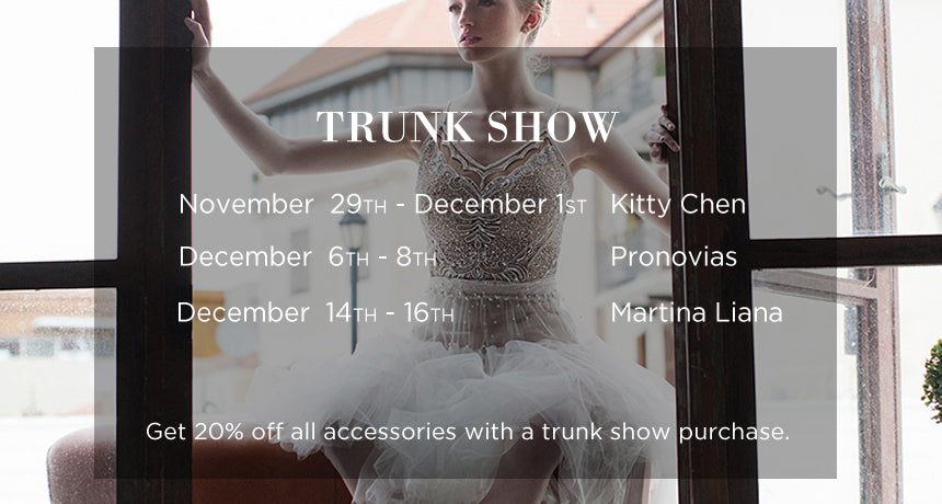December Trunk Shows