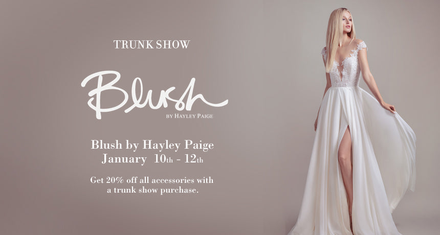 Trunk Show Blush by Hayley Paige