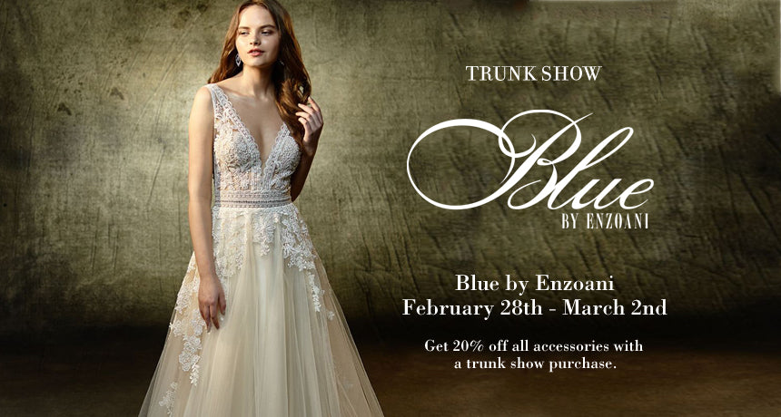 TRUNK SHOW Blue by Enzoani