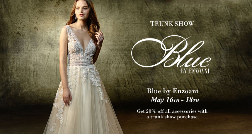 TRUNK SHOW Blue by Enzaoni