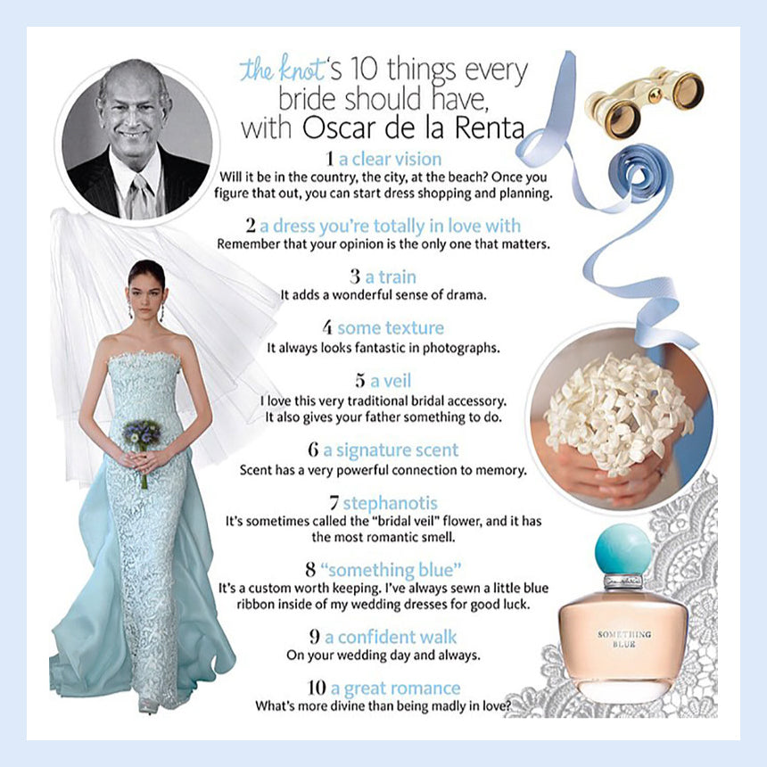 10 Things Every Bride Should Have, With Oscar De La Renta