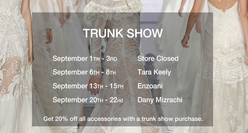 August Trunk Show