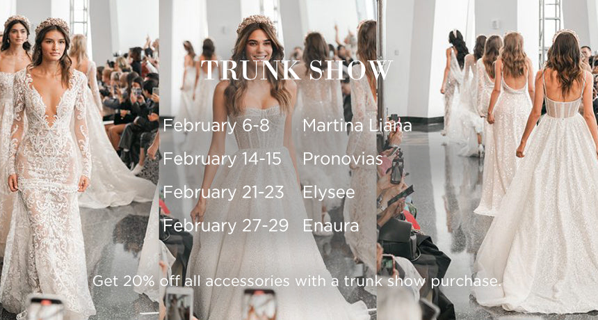 February Trunk Shows
