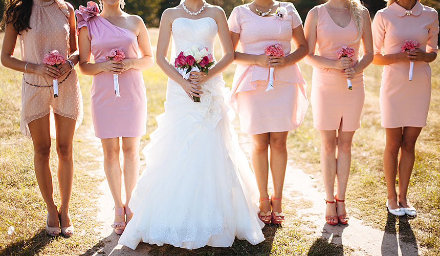 7 mistakes brides make when choosing their wedding colors