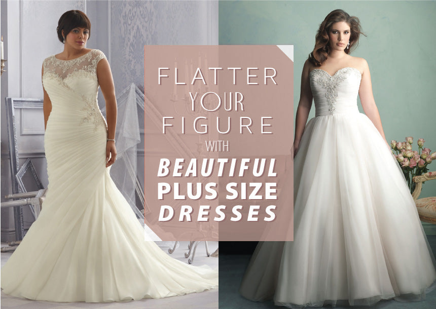 Shopping Guide For Plus Size Brides