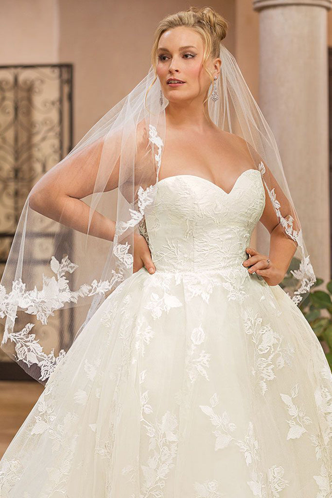 Casablanca 2349 Wedding Dress Bridal Gown Plus Size