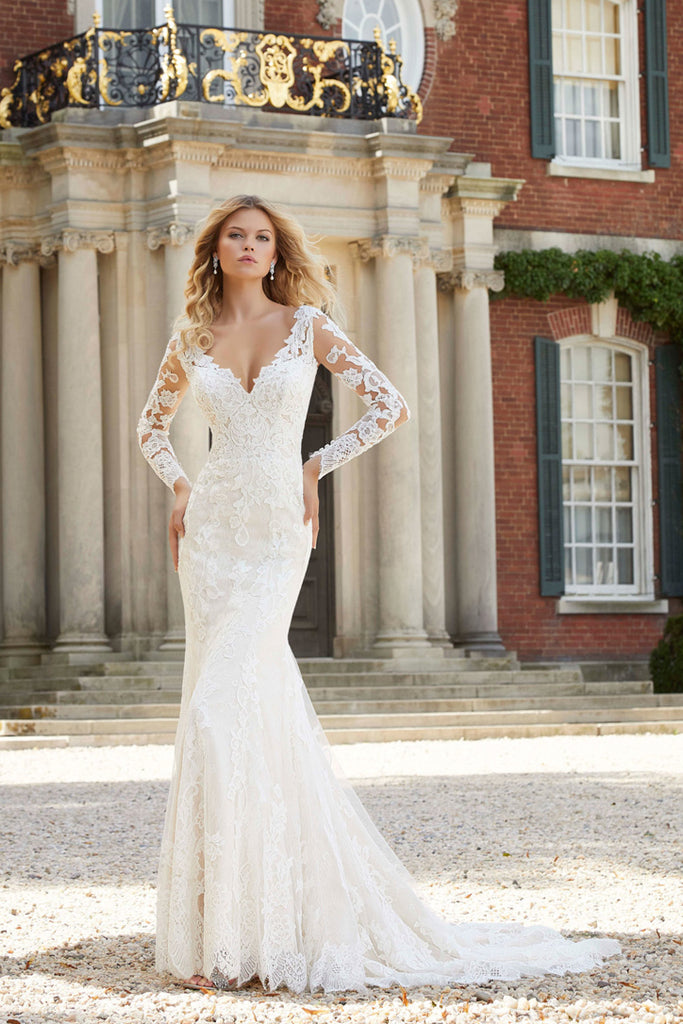 5517a218 Fit and Flare Designer Wedding Dresses Bridal Gowns | Jaehee Bridal ...