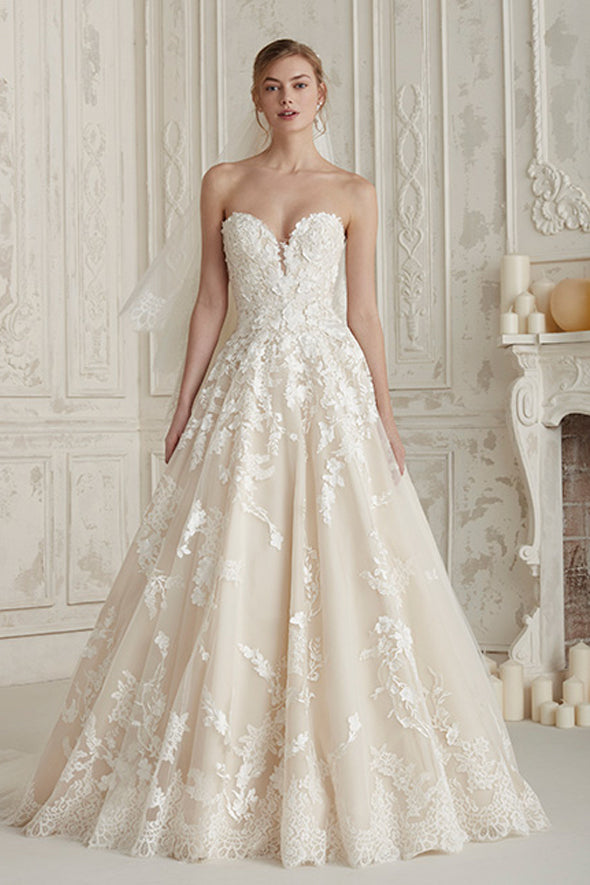 PRONOVIAS ELCIRA SAMPLE SALE
