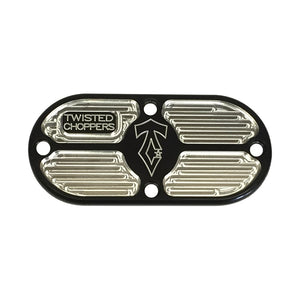 Spectrum Inspection Cover Twin Cam Harley Davidson Softail Dyna