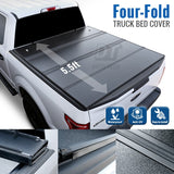 2007-2020 Toyota Tundra 5.5' Short Bed Quad-Fold Bed Cover