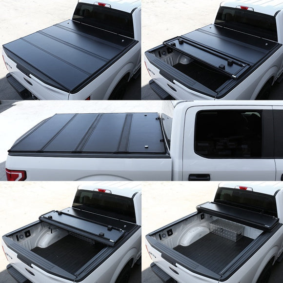 2015-2019 GMC Canyon 5' Short Bed Quad-Fold Bed Cover