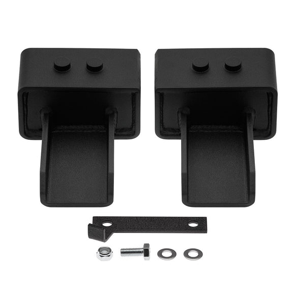 2004-2020 Ford F150 US Patent Pending Rear Lift Blocks with Built-In Bump Stop Plates 2WD-Suspension Lift Kits-Supreme Suspensions-3