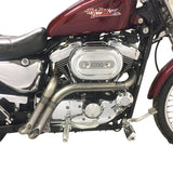 Sportster Evolution Midset Slash Cut Header
