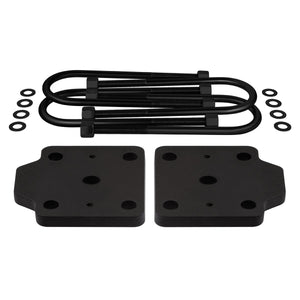 "2009-2012 Suzuki Equator U-Bolt Flip Striker Plates with 5/8"" U-Bolts Kit 2WD 4WD-Lift Kit Accessories-Supreme Suspensions-Supreme Suspensions®"