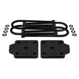 "2000-2010 Chevrolet Silverado 2500HD U-Bolt Flip Striker Plates with 5/8"" U-Bolts Kit 2WD 4WD-Lift Kit Accessories-Supreme Suspensions-Supreme Suspensions®"