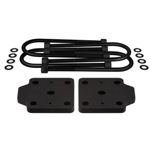 "2001-2010 Chevrolet Silverado 1500HD U-Bolt Flip Striker Plates with 5/8"" U-Bolts Kit 2WD 4WD-Lift Kit Accessories-Supreme Suspensions-Supreme Suspensions®"