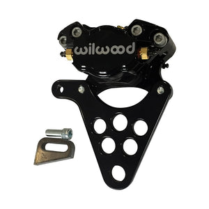 WILWOOD CUSTOM MOTORCYCLE HARLEY REAR BRAKE CALIPER KIT-BLACK