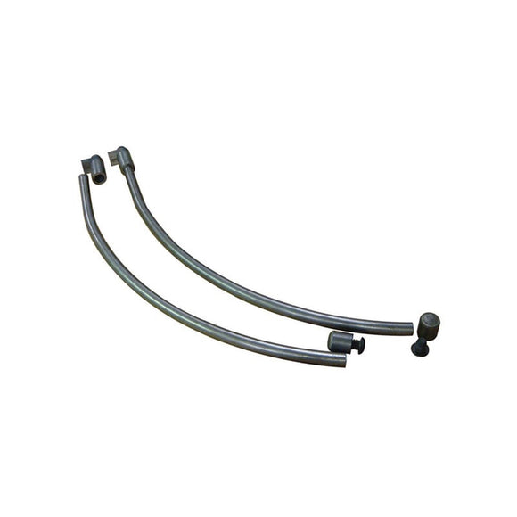 CURVED EXTERNAL REAR FENDER STRUTS