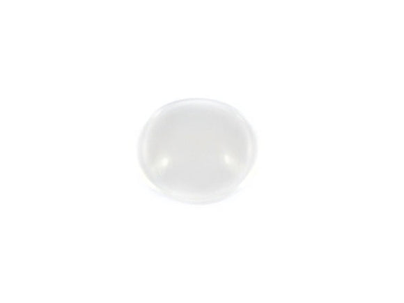 Cabochon loupe rond transparent - 15 mm - x 1