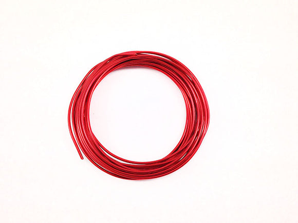 Fil Aluminium - Rouge - 2 mm - X 6 m