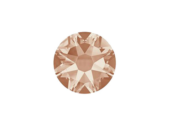 Strass cristal Swarovski à coller - Light Peach F - 3 mm - x 20