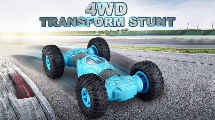 WOW! Amazing The Twisting Stunt Car For Kids