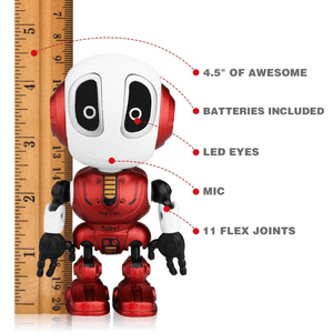 Betheaces strong mini robot toy