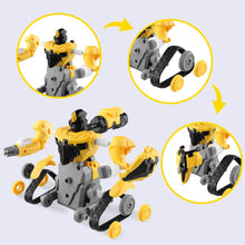 Load image into Gallery viewer, Remote Control Robot - RC Assembly Robots for Kids Building Blocks Set