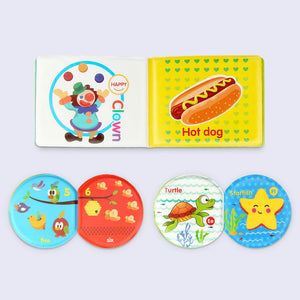 Betheaces Early Educational Infant Learning Books Toys