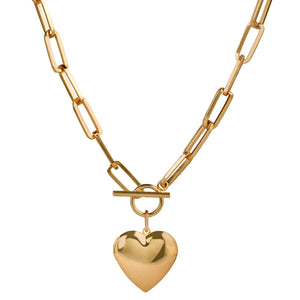 CÉLINE 18K HEART LOCKET