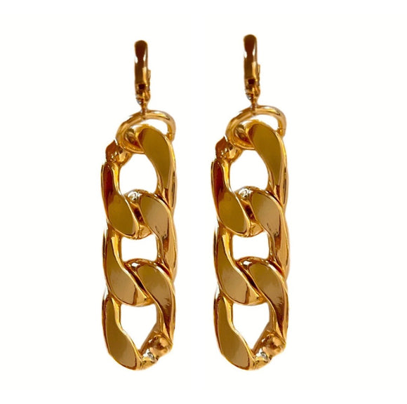 AURORA 18K CHAINLINK EARRINGS