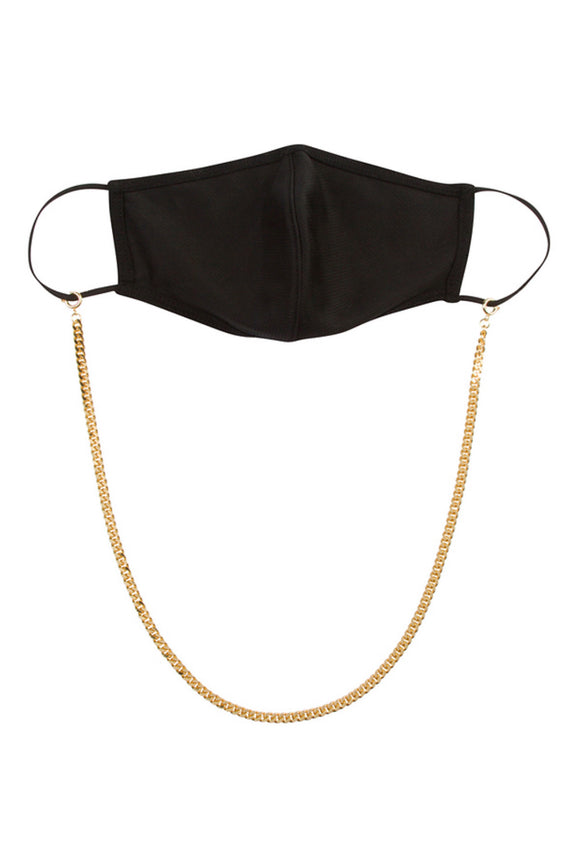 GIANNI 18K MASK CHAIN