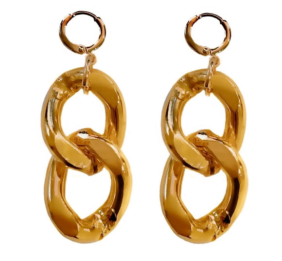 MAISON CHAINLINK EARRINGS